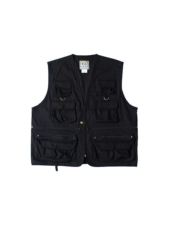 ROTHCO X FLOOD SEASON LOGO HUNTING VEST / BLACK