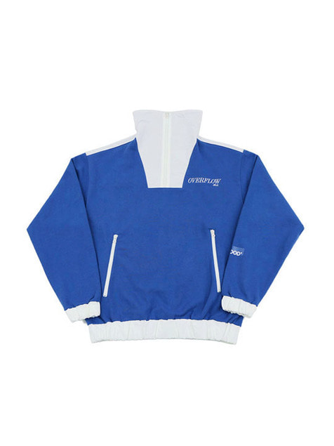 OVERFLOW LOGO ZIP-UP JACKET / BLUE