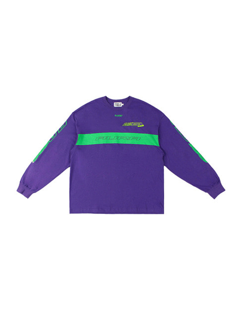 FLD 180 RACING LONG SLEEVE / PURPLE