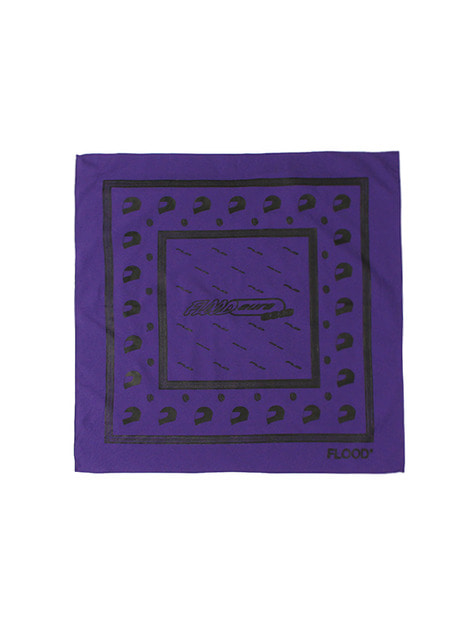 FLOOD SS18 RACING BANDANA / PURPLE
