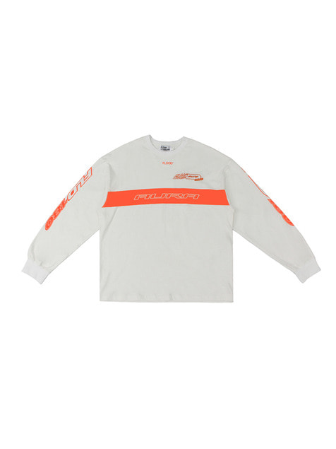 FLD 180 RACING LONG SLEEVE / OFF WHITE