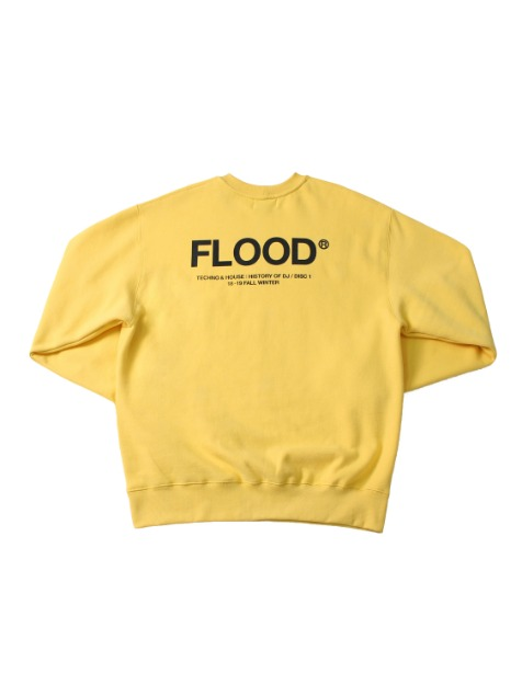 SEASON LOGO SWEATSHIRTS / PALE YELLOW