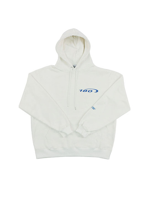 180 LOGO HOODIE / OFF WHITE