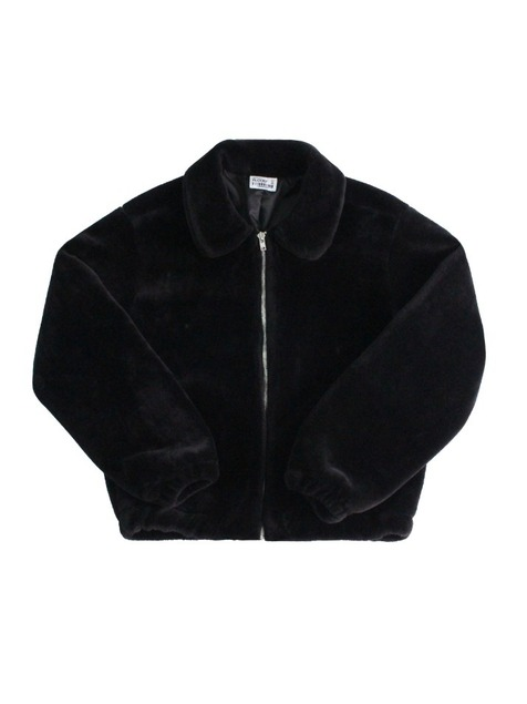 FUR JACKET / BLACK