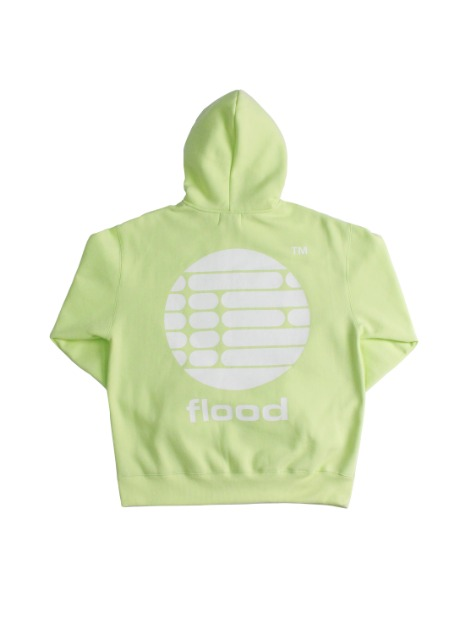RECORDS LOGO HOODIE / YELLOW GREEN